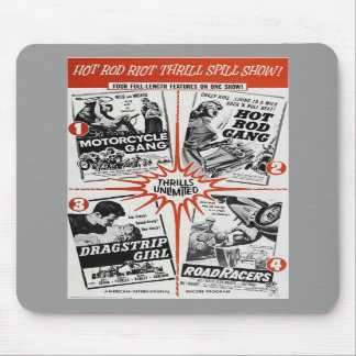 Hot Rod Riot Mouse Pad