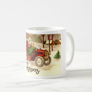 Hot Rod Santa Coffee Mug