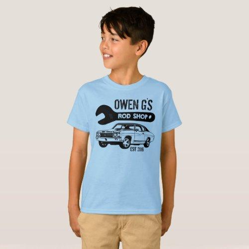 Hot Rod Shop Shirt