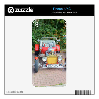 Hot Rod Skin For iPhone 4S