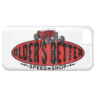 Hot rod speed shop logo case for iPhone 5C