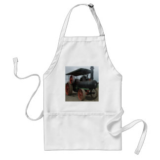 Hot Rod Tractor Adult Apron