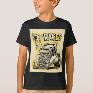 hot rod wanna race monster cartoon oldschool T-Shirt