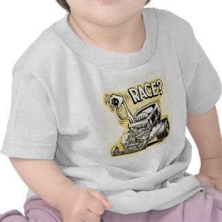 hot rod wanna race monster cartoon oldschool t-shirts