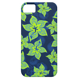 Hot Rodder Pinstriped Hibiscus and Skull iPhone 5 Cover