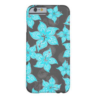 Hot Rodder Pinstriped Hibiscus iPhone 6 case