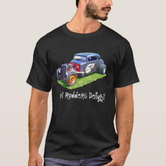 Hot Rodders Delight Dark T-Shirt