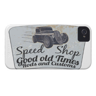 Hot Rods iPhone 4 Case-Mate Cases