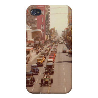 hot rods on the vegas strip iPhone 4 case
