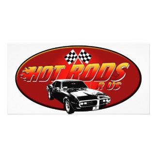 Hot Rods R US Custom Photo Card
