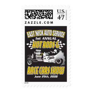 Hot Rods & Racecars Show 2008 Postage Stamp