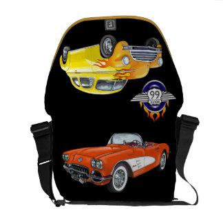 Hot Rods / Route 66 Bag - SRF Courier Bag