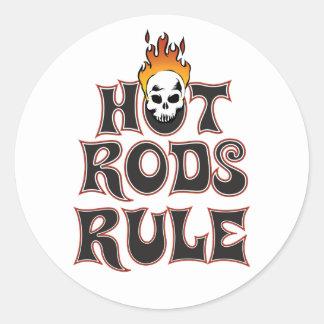 """Hot Rods Rule 3"""" Sticker"""