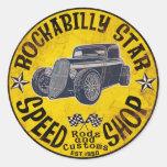 Hot Rods Speed shop Sticker
