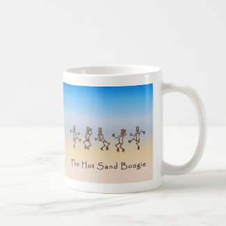 Hot Sand Boogie Classic White Coffee Mug