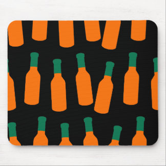 Hot Sauce Bottles Mouse Pad
