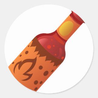 Hot Sauce Classic Round Sticker
