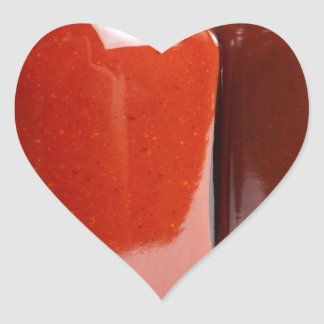 Hot sauces sticker