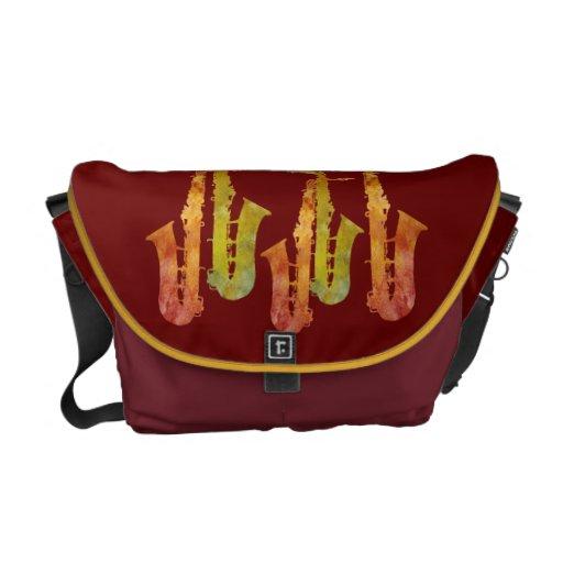 Hot Saxophones Courier Bags