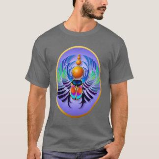Hot Scarab light Oval Shirts