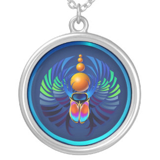 Hot Scarab  Necklace