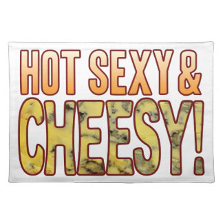Hot Sexy Blue Cheesy Placemat
