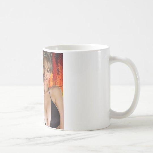 HOT SEXY SARAH PALIN BY TEO COFFEE MUG