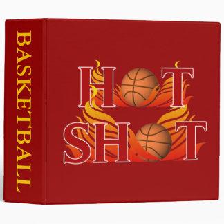 Hot Shot Basketball Binder