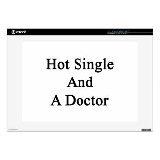 Hot Single And A Doctor Laptop Decals