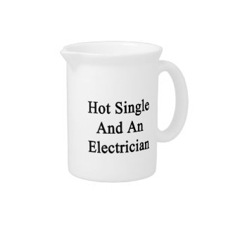 Hot Single And An Electrician Beverage Pitcher