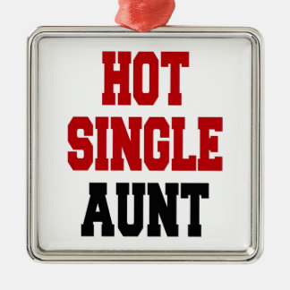 Hot Single Aunt Christmas Ornaments
