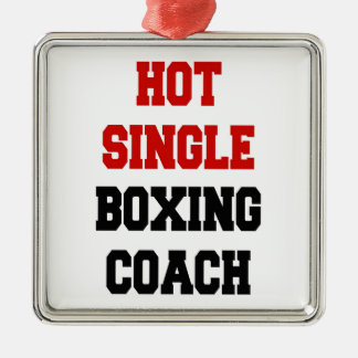 Hot Single Boxing Coach Metal Ornament