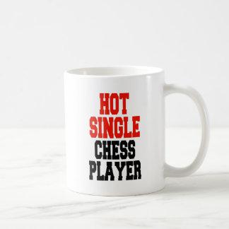 Hot Single Chess Player Coffee Mug