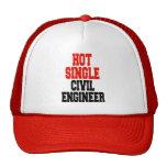 Hot Single Civil Engineer Trucker Hat
