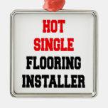 Hot Single Flooring Installer Ornament
