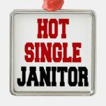 Hot Single Janitor Ornaments