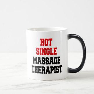 Hot Single Massage Therapist Magic Mug