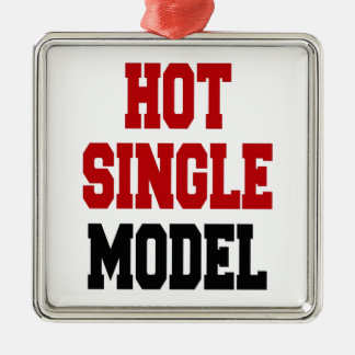 Hot Single Model Metal Ornament