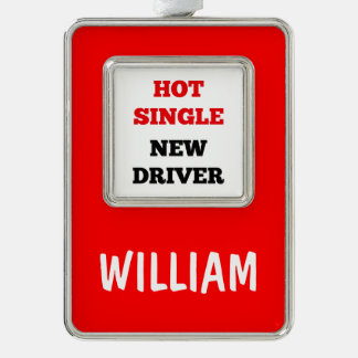 Hot Single New Driver Ornament