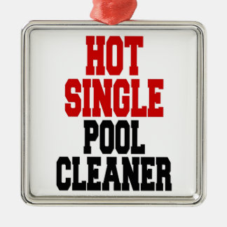 Hot Single Pool Cleaner Metal Ornament