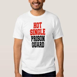 Hot single Prison Guard T Shirts