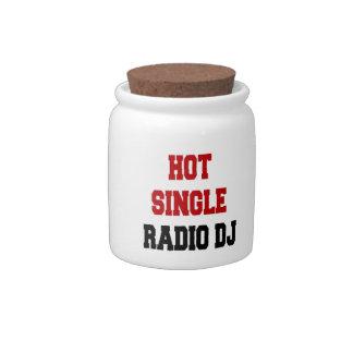 Hot Single Radio DJ Candy Dishes