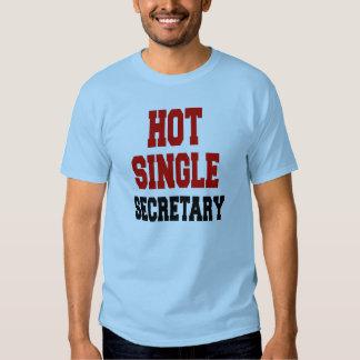 Hot Single Secretary Tshirt