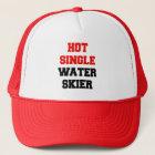 Hot Single Water Skier Trucker Hat