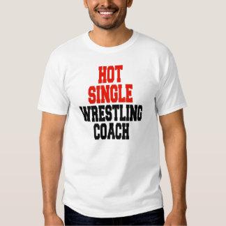 Hot Single Wrestling Coach Shirts