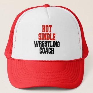 Hot Single Wrestling Coach Trucker Hat