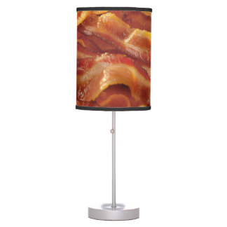 Hot Sizzling Strips of Bacon Table Lamp