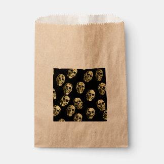 Hot Skulls,eggshell Favor Bag