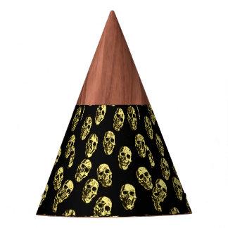 Hot Skulls,eggshell Party Hat