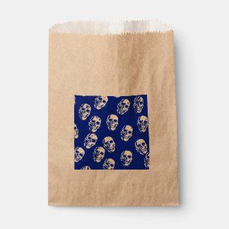 Hot Skulls,white Favor Bag